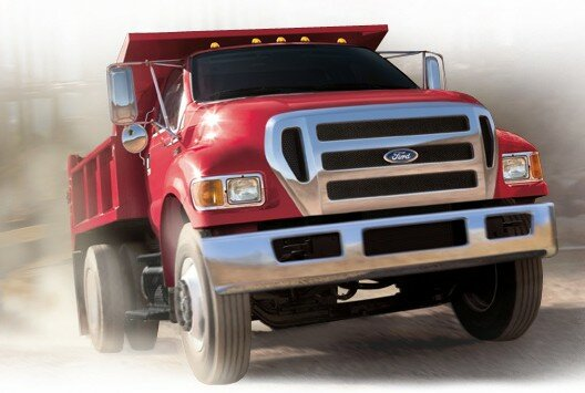 Ford Super Duty F-750 - with dumptruck aftermarket