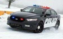 Ford 2015 Police Interceptor sedan
